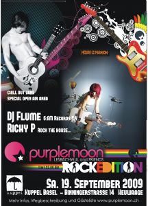 Purplemoon Rock Edition in Basel