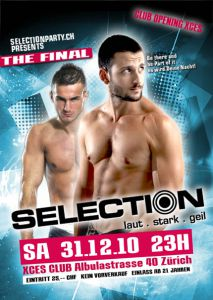 Silvester 2010: Selection im Xces!