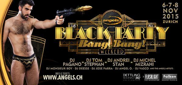 Angels Black Party